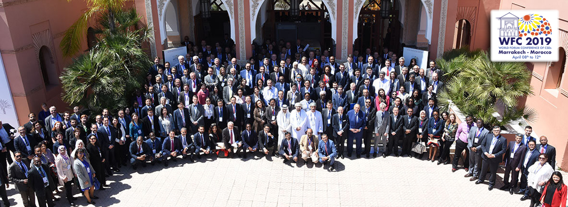 World Forum Conference of CSDs (WFC 2019) Marrakesh, Morocco - April 2019