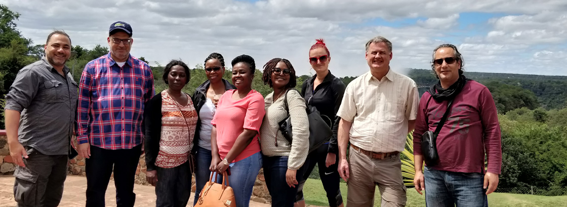 AMEDA meeting in Kasane, Botswana - April 2018